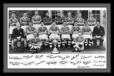 Photograph/Photo/Presentation/Print/Chelsea FC/League Champions/ 1954/55 Season