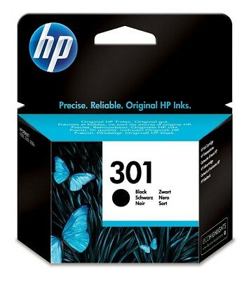 Genuine HP 301 Black Ink Cartridge for Deskjet 1050A