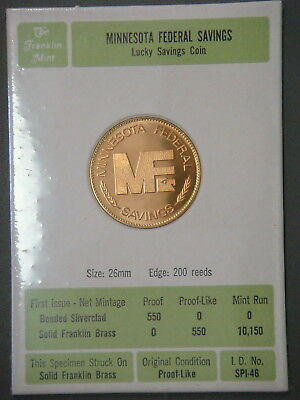Minnesota Federal Savings, Lucky Savings Coin
