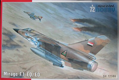 Special Hobby 1/72 SH72386 Dassault Mirage F.1EQ/ED  Model Kit