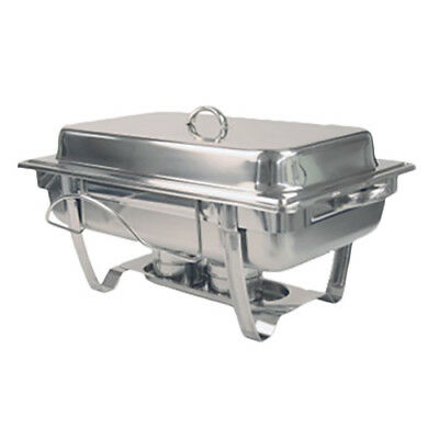 Thunder Group SLRCF0833BT 8 Qt Stainless Steel Stackable Chafer w/ Lift Off Lid