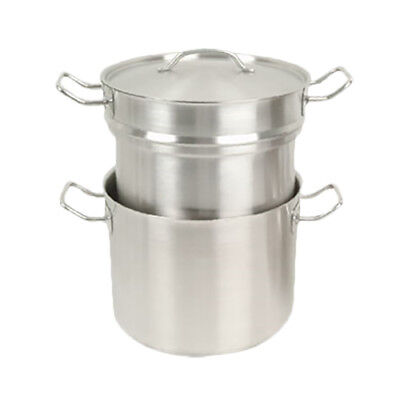 Thunder Group SLDB012 12 Qt Stainless Steel Induction Double Boiler
