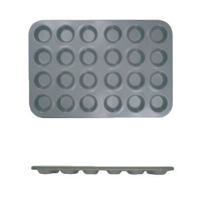 Thunder Group SLKMP124 24 Cup Non-Stick Carbon Steel Muffin Pan