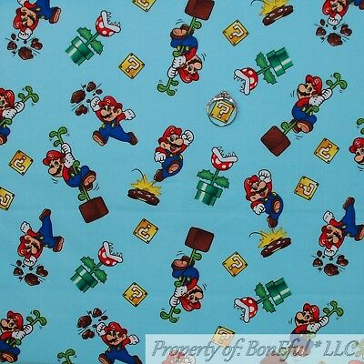 BonEful FABRIC FQ Cotton Quilt Yellow Red Blue Transformers Toy Boy Rescue*Bot L