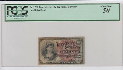 Fractional Currency Civil War era item to 1870's  PCGS Graded about new 50