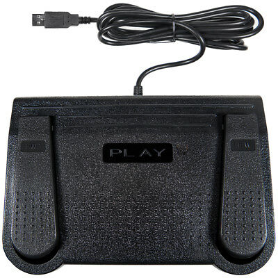 Express Scribe Transcription Foot Pedal-Compatible with Windows or Mac Paid Ver.