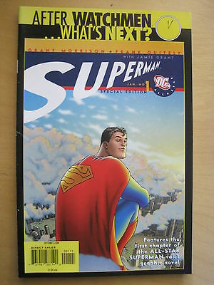 AFTER  WATCHMEN .. WHAT'S NEXT? Special Edition ALL-STAR SUPERMAN 1 by MORRISON