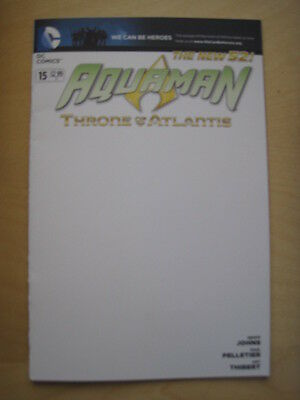 AQUAMAN  # 15. VARIANT. By JOHNS & PELLETIER. DC THE NEW 52. DC. 2013