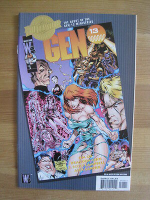 DC COMICS MILLENNIUM EDITION : GEN 13 # 1, 1994. JIM LEE.MILLENNIUM 2000 Edition