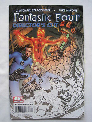 Fantastic Four   527. Rare Director's Cut With Thick Cover.  Marvel  2005
