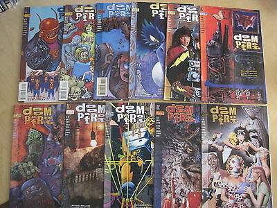DOOM PATROL 64-86, 1st 23 ISSUES of the 1993 VERTIGO RUN by POLLACK, McKeever et