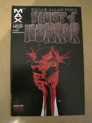 EDGAR ALLAN POE's HAUNT of HORROR by RICHARD CORBEN : issue 2. MARVEL MAX. 2006