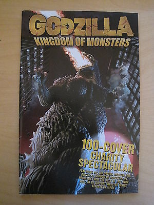 GODZILLA : KINGDOM OF MONSTERS - 100 COVER CHARITY SPECTACULAR.100 pg. IDW. 2011