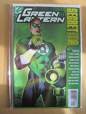 GREEN  LANTERN  : Secret Files & Origins 2005. Gibbons,Johns,Eaglesham etc. DC