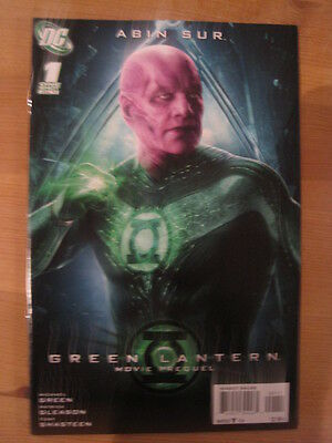 GREEN LANTERN MOVIE PREQUEL ONE-SHOT. : ABIN SUR. By MIKE GREEN. DC. JUNE,2011
