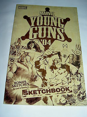 MARVEL YOUNG GUNS '04 - ONE-OFF : COIPEL, FINCH, GRANOV, LAND etc. MARVEL 2005