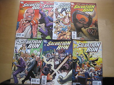SALVATION RUN :COMPLET 7 ISSUE SERIES,The ROGUES from FLASH,CAPTAIN COLD.DC.2008