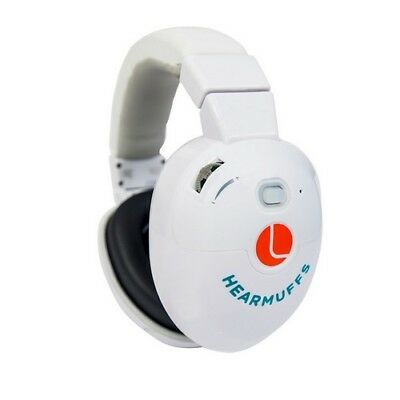Lucid Audio LU-INFANT-AWH HearMuffs Infant Active White Safety Ear Protection