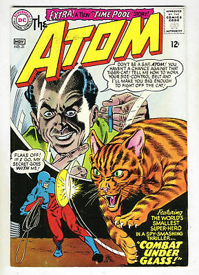 DC Comics The ATOM #21 Combat Under Glass from Nov. 1965 in VF condition