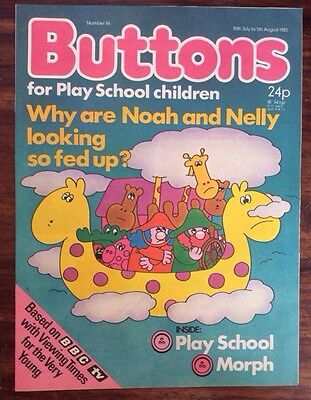 Buttons Comic No 96. 30 July 1983 Unread, Unsold Newsagents Stock. Nr Mint. (1
