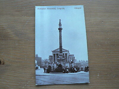 Old Photo Postcard, Battlefield Monument, Langside, Glasgow