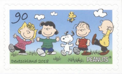 NEW! Snoopy Woodstock Sally Charlie Brown Lucy Linus Peanuts Gang Stamp MINT!