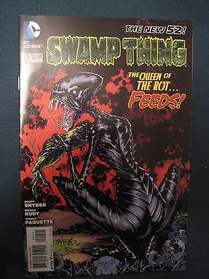 Swamp  Thing  #  9 . By  Scott Snyder.   The New 52. Great Cover ! Dc. 2012