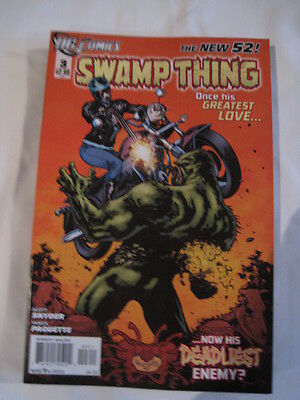 Swamp  Thing  #  3 . By  Scott Snyder.   The New 52. Great Cover ! Dc. 2012