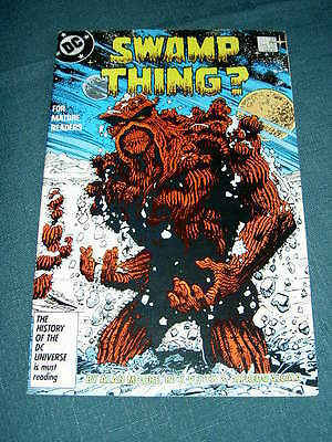 SWAMP THING  57. By ALAN MOORE,  RICK VEITCH & ALFREDO ALCALA. DC.1987