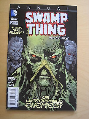 SWAMP THING ANNUAL 2 by CHARLES SOULE & JAVIER PINA. DC THE NEW 52. 2013