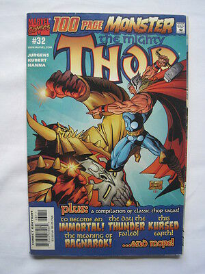 The Mighty THOR  32  NM. 100 page GIANT SIZE. CLASSIC . MARVEL.2001