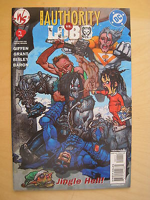 "The AUTHORITY vs LOBO 1 :""JINGLE HELL"" by GIFFEN,GRANT,BISLEY. V ADULT CHRISTMAS"