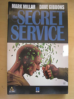 The SECRET SERVICE  #  3. KINGSMAN  by MARK MILLAR & DAVE GIBBONS.  ICON. 2013