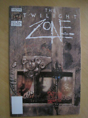 The TWILIGHT ZONE : DOUBLE SIZED EDITION by HARLAN ELLISON, NEIL ADAMS. NOW.1990