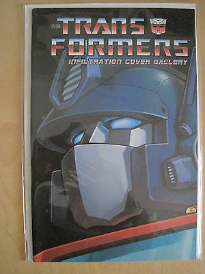 "Transformers : "" Infiltration "" : Cover Gallery, Giant Size One-Shot. Idw. 2006"
