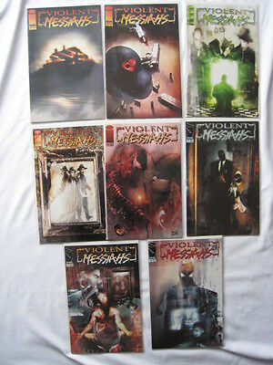 VIOLENT MESSIAHS. CLASSIC  8 ISSUE SERIES by DYSART & RODRIGUEZ. IMAGE. 2002