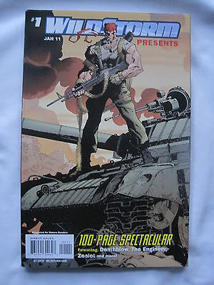 WILDSTORM PRESENTS : 100 PG SPECTACULAR 1.SQ BOUND 1-SHOT.JOHNS,JENKINS etc.2011