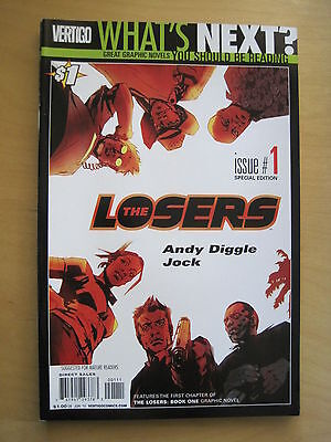 WHAT'S NEXT? Special Edition DC PREVIEW Series LOSERS 1 by ANDY DIGGLE & JOCK