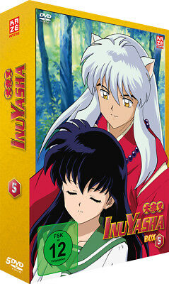 InuYasha - TV Serie - Box 5 - Episoden 105-138 - DVD - NEU