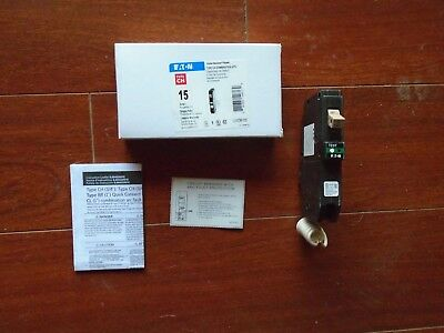 Cutler Hammer 15 amp Combination AFCI Arc Fault Breaker CHFCAF115 New in Box