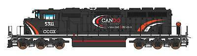 Intermountain N SD40-2W with DCC and Sound CANDO