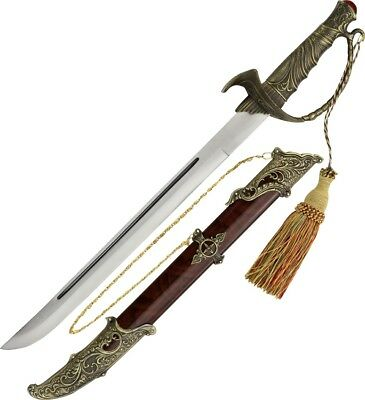 CN926828 Turkish Sword Antique Bronze Metal Handle