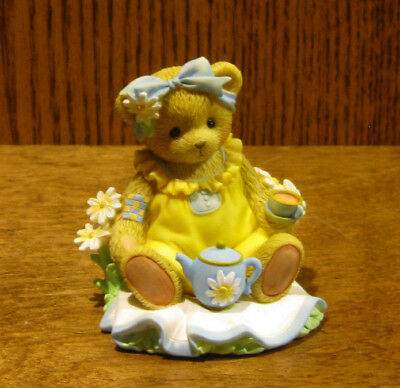 "Cherished Teddies #CT1603 ROSEANNE, ""SITTING DOWN FOR TEA"", Members Only Piece"