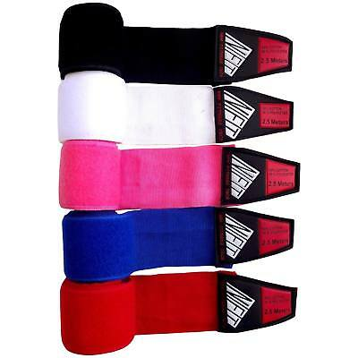 Hand wraps Boxing glove bandages Muay Thai MMA stretch handwraps 4.5m by SPS