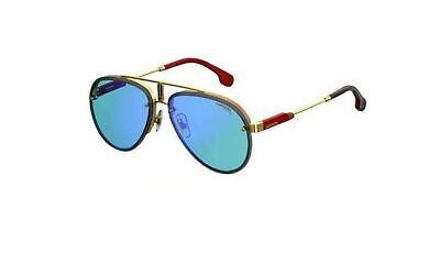 NEW AUTHENTIC CARRERA Glory LKS2Y Gold Blue Red with Blue Sunglasses ... 4262df0b82