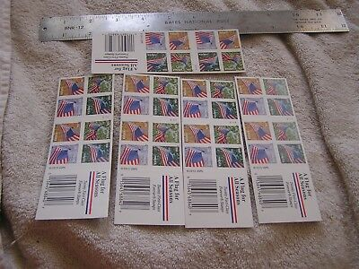 Lot of 5 stamp Booklets A Flag For All Seasons