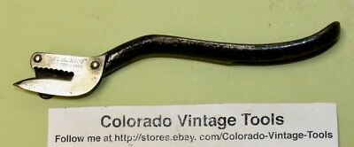 "Vintage ""DELMONICO"" Lever Type Can Opener /Pat. Feb.11, 1890 /$3 Ships"