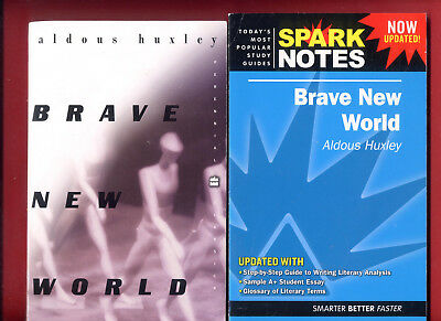 Brave New World by Aldous Huxley & SparkNotes study guide - Free Shipping!