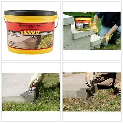 Cement Mix Curb Edges Steps Floor Masonry Concrete Repair Quick-Setting 10 Lbs