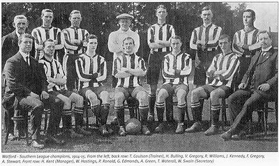 Watford Football Team Photo>1914-15 Season